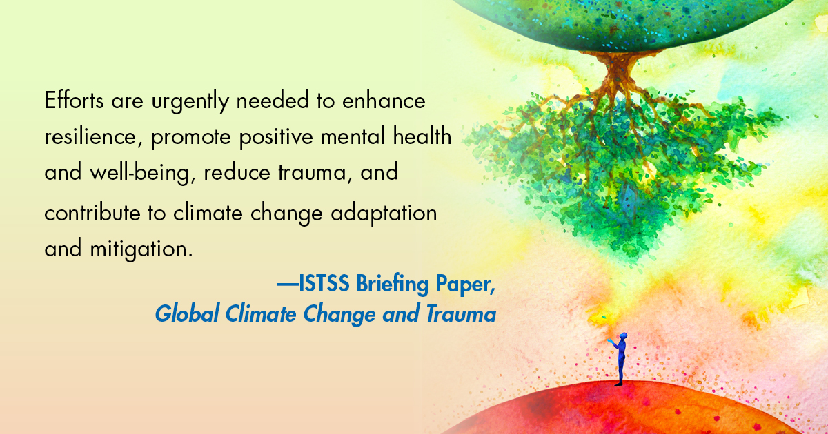 New Briefing Paper: Global Climate Change and Trauma